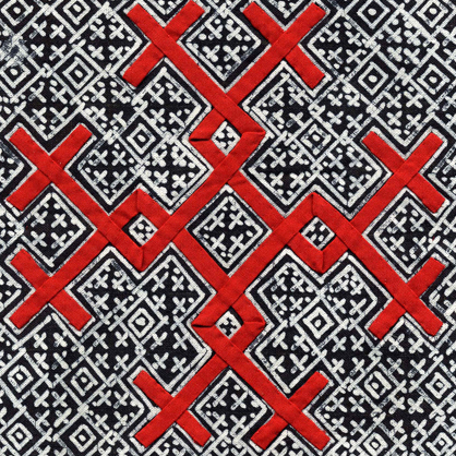 Hmong Embroidery Symbols Custom Hmong Pattern
