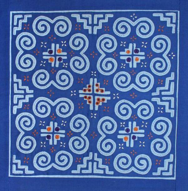 Hmong Embroidery Reverse Appliqué Classy Hmong Pattern